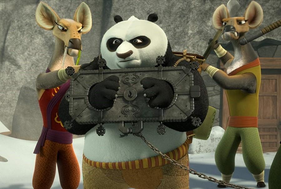 Kung Fu Panda - The Paws of Destiny Legendado Torrent Imagem