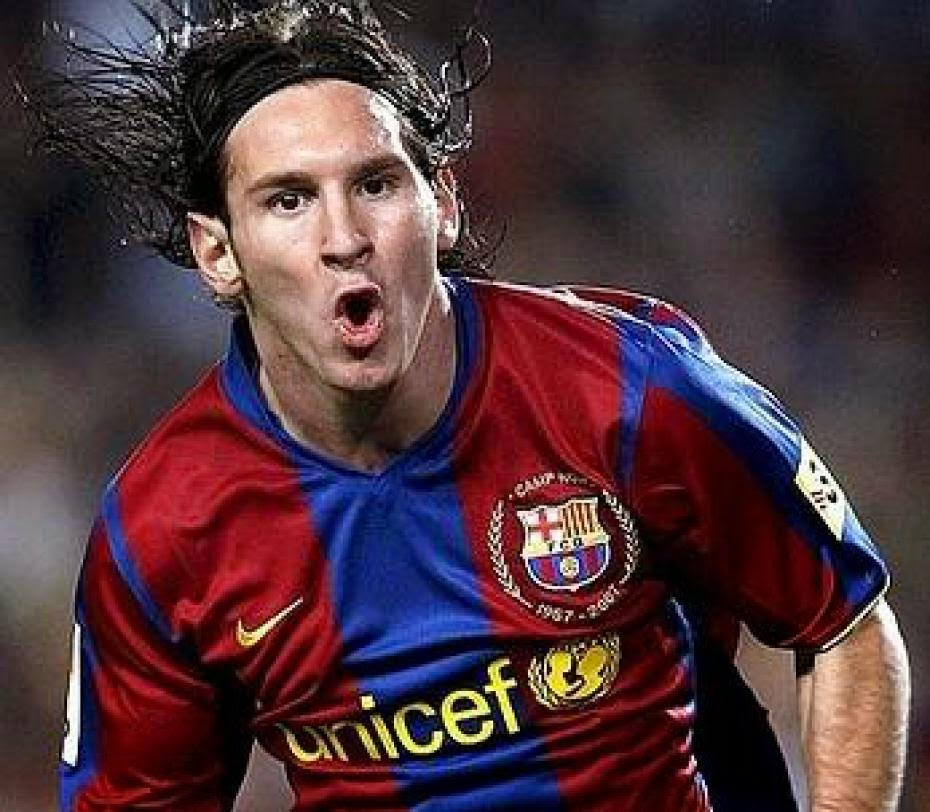Lionel Messi Hairstyles Smile Photos