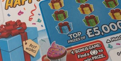 £1 Happy Birthday Scratchcard