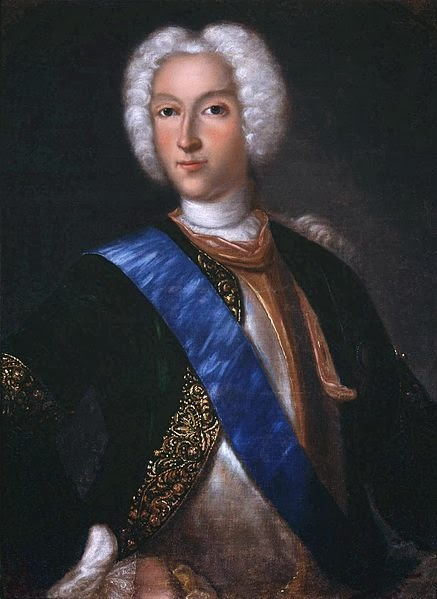 Peter II by Iogann Genrikh Vedekind, 1730