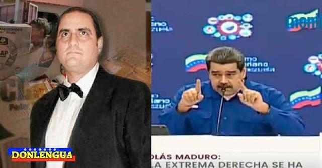 A Maduro se le chispoteó que Álex Saab estaba metido en la Mafia de las Cajas CLAP