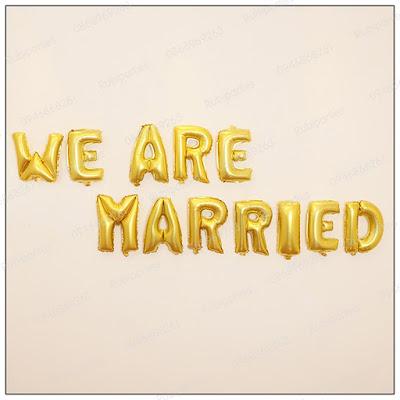 bong chu we are married mau vang