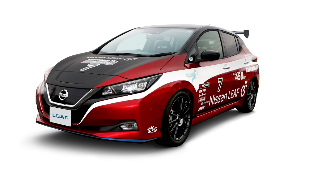 Nissan Leaf e+ EV-GP race car