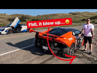 DESTROYED MY LAMBORGHINI HOURS BEFORE A CHARITY EVENT FOR KIDS!