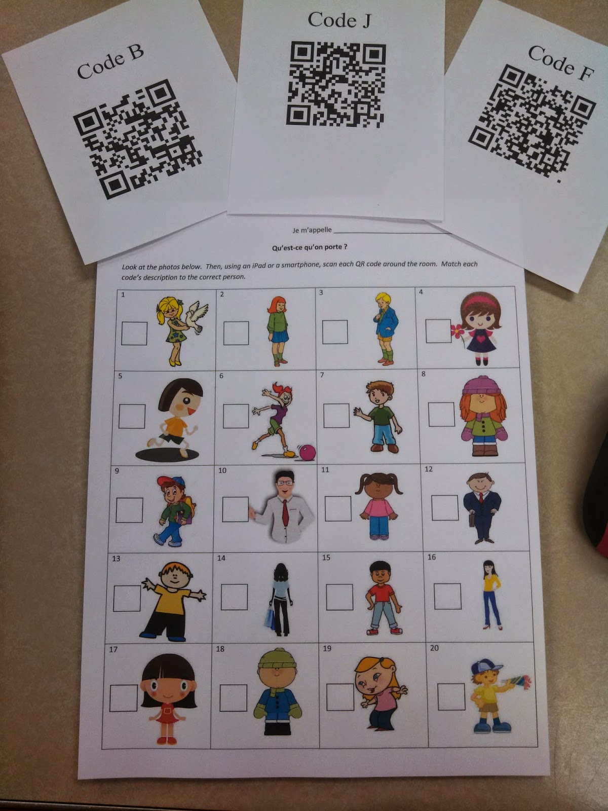 Je M Appelle Madame Using Qr Codes To Enhance Learning