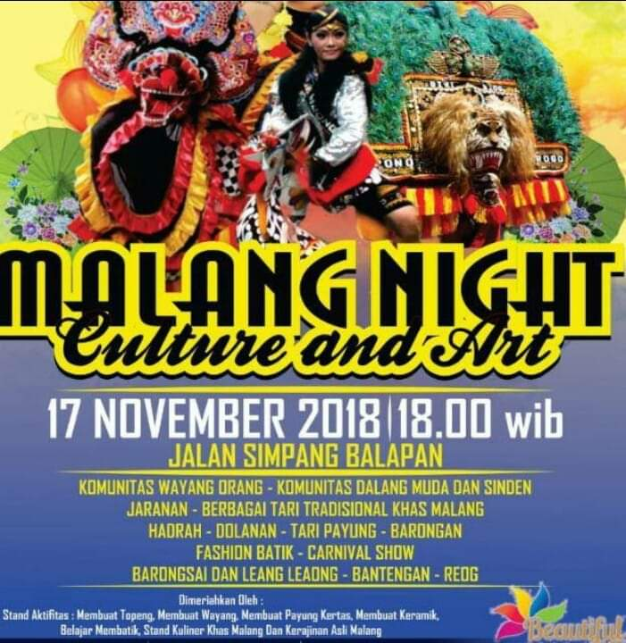 Malang Night Culture And Art