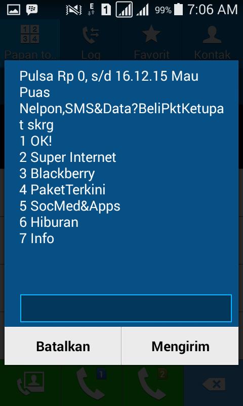 Aktivasi Paket Internet Indosat