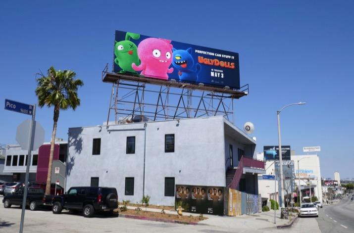 Ugly Dolls billboard