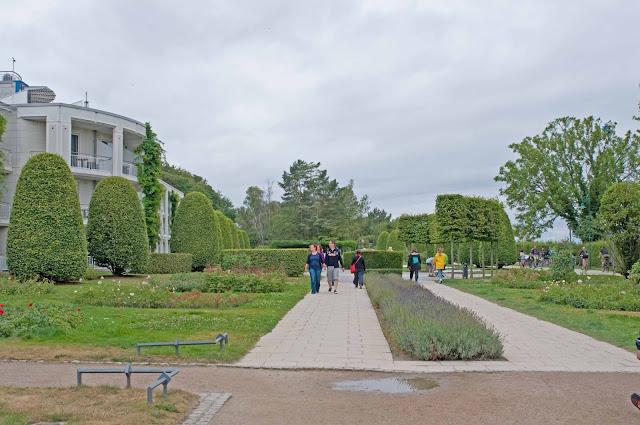 miasteczko po niemieckiej stronie granicy Heringsdorf