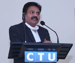 RK Parmar, Director, MSME DI, Ludhiana, Government of India speaking during Session