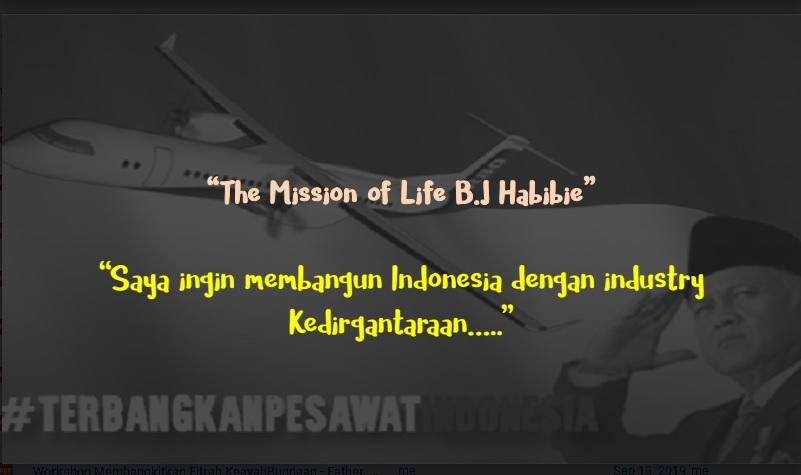 visi misi keluarga Eyang Habibie
