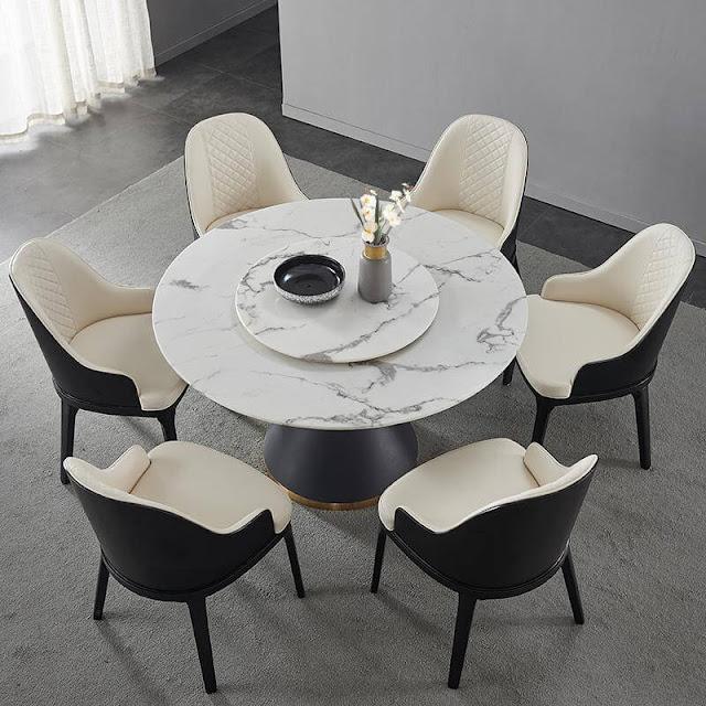 6 set round dining rable set