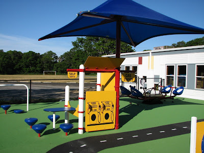 Gas Station Play Area Hyannis West Elementary