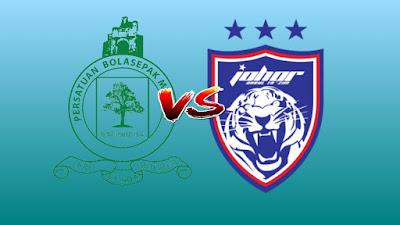 Live Streaming Melaka United vs JDT FC Liga Super 26.6.2019