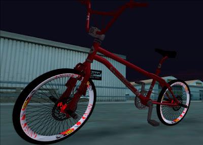 roda aro vmaxx vzan cbr gta sa tuning mod bicicleta
