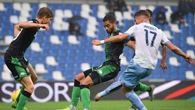 Video Cuplikan Gol: Sassuolo 1-2 Lazio (Serie A)