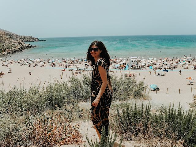 Malta holiday - golden bay