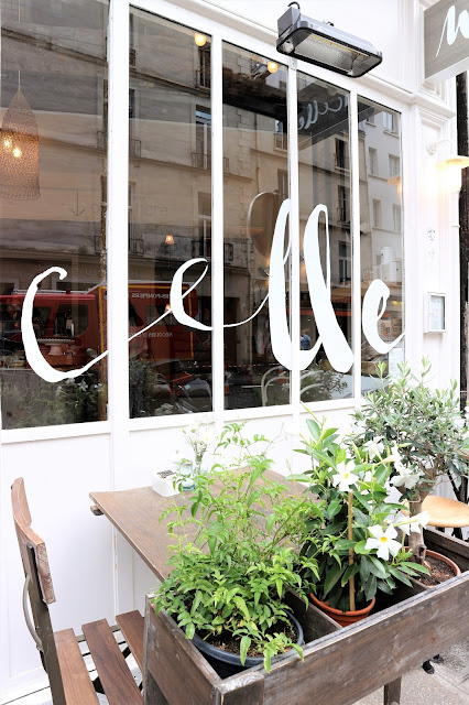 Marcelle / Healthy food / Blog Atelier rue verte / Terrasse parisienne /