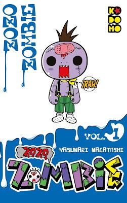 Manga: Reseña de Zozo Zombie Vol.1 de Yasunari Nagatoshi - ECC Ediciones