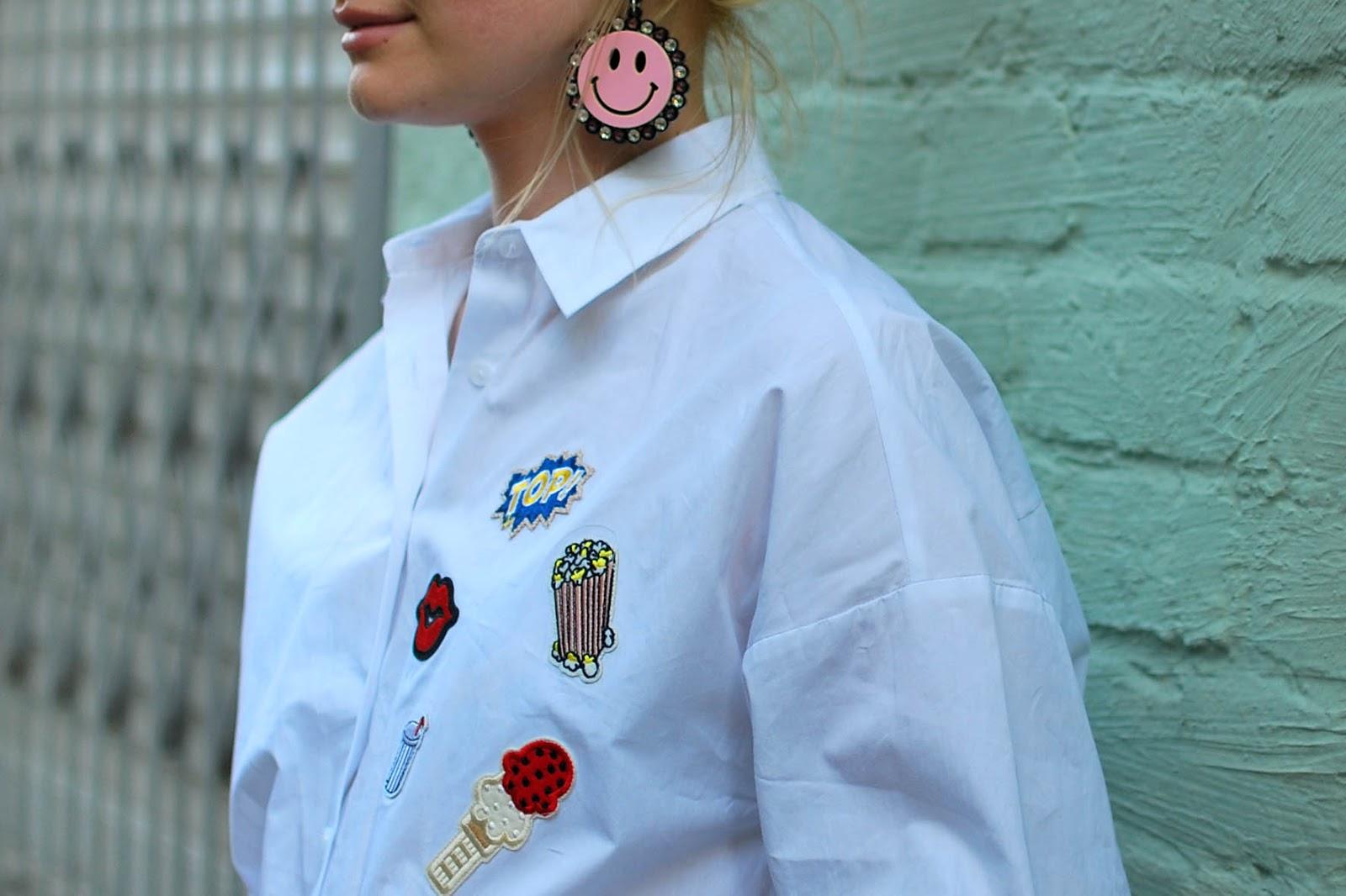 серьги из плексигласа мода, уличная мода весна лето 2016, тенденции моды 2016