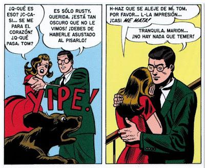 Viñeta comic terror Tales from the crypt, edita DIabolo