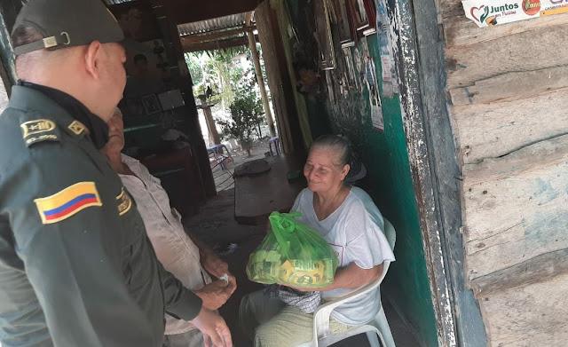 A madres del Cesar, Policía les celebró su día