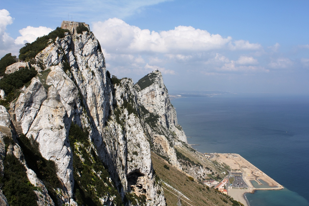 Did you know that the Rock of Gibraltar is a British territory? Photo: Paul Fuller.