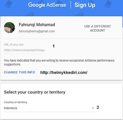 Cara mendaftarkan blog kegoogle adsense 8