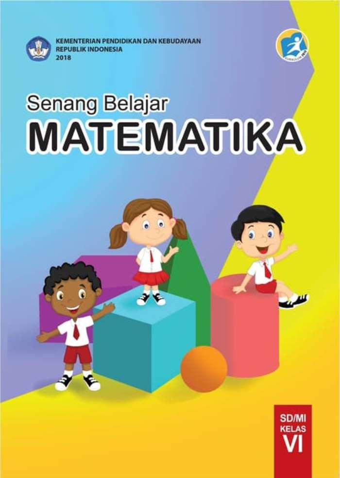 Buku Siswa SD Kelas 6 Senang Belajar Matematika