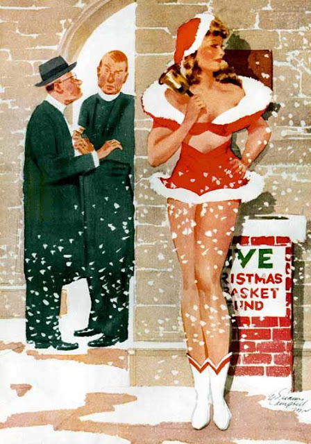 Vintage Pin Up by E. Simms Campbell