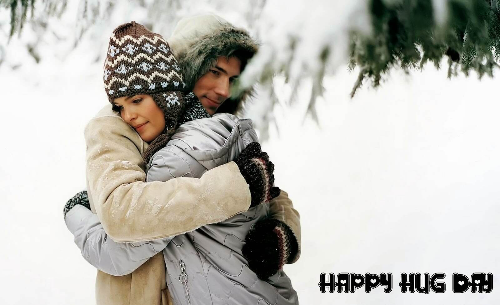 Happy Hug Day HD Wallpapers