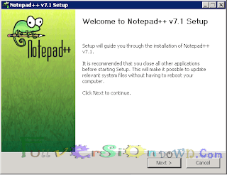Free Download Notepad++ 7.1 Latest Version