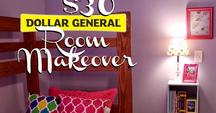 Doodlecraft 30 Dollar General Tween Room Makeover