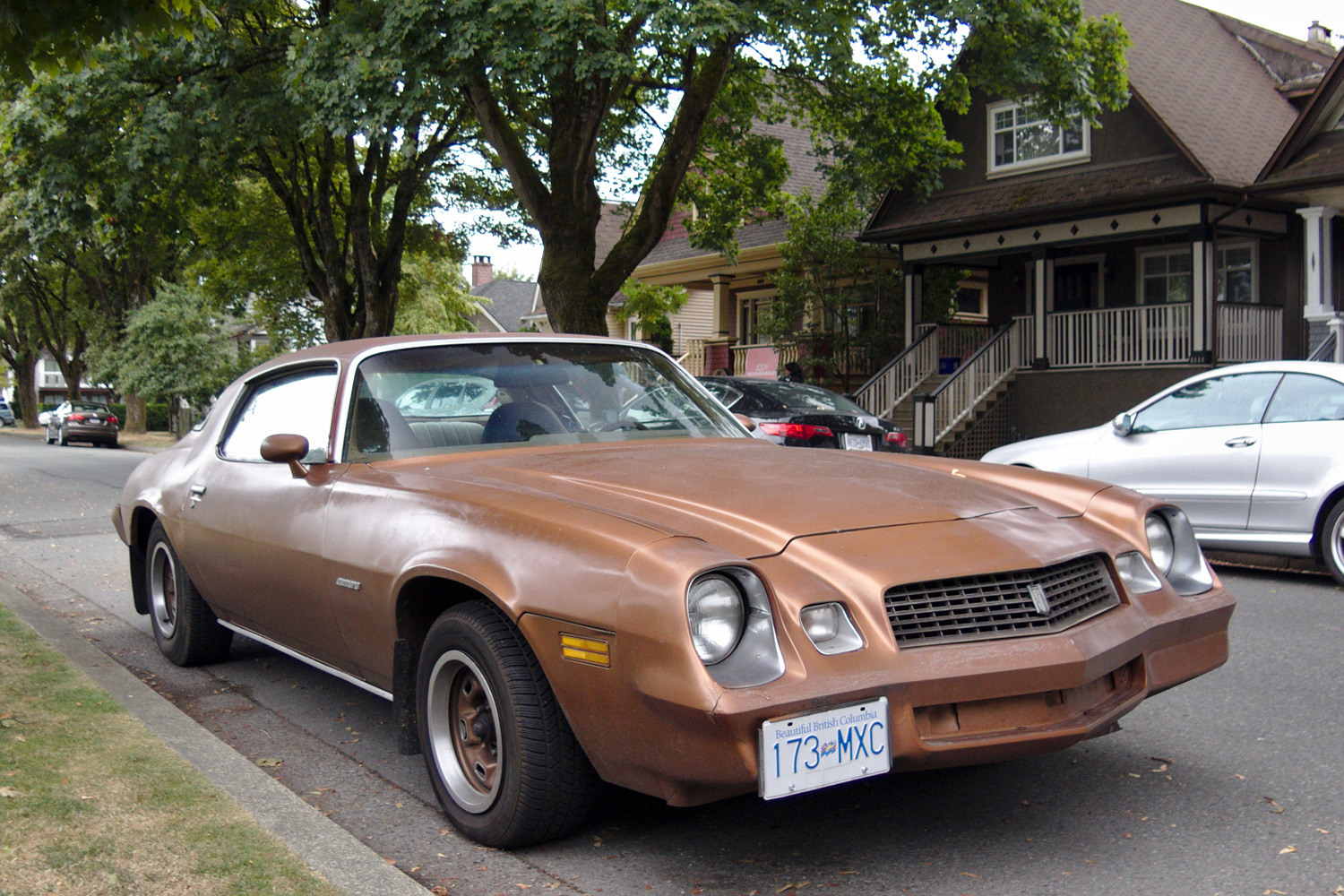 Old Parked Cars Vancouver: 1978 Chevrolet Camaro Sport Coupe