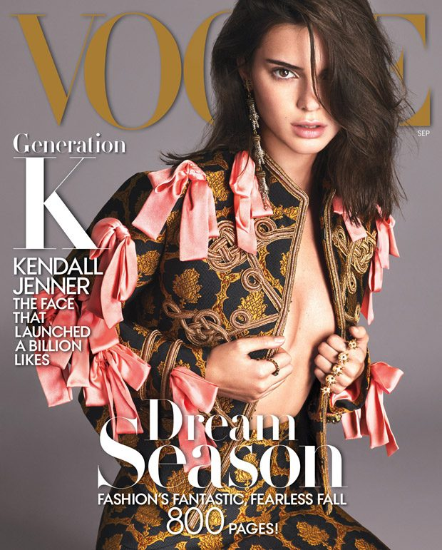 Kendall Jenner covers Vogue US September 2016
