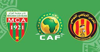 مشاهدة مباراة الترجي ضد مولودية الجزائر 10-04-2021 بث مباشر في دوري ابطال افريقيا