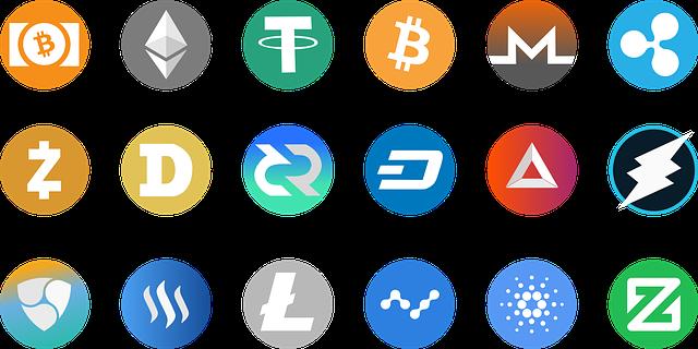 lambang mata uang bitcoin
