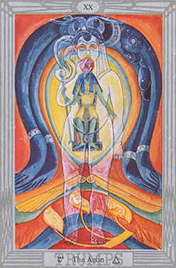Prophecy: Thoth Tarot Atu The Aeon XX