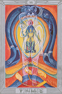 Prophecy of Liber AL: Thoth Tarot Atu The Aeon XX