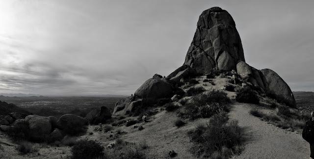 Tom's Thumb trail Scottsdale Hiking