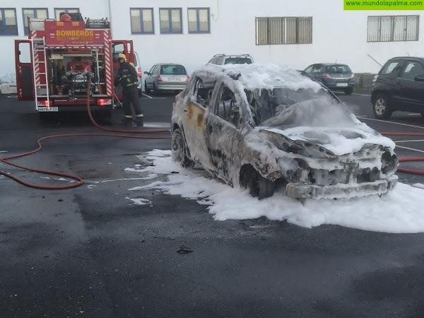 Incendio ayer un vehículo en San Andrés y Sauces