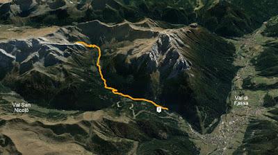 GPS Lago delle Selle
