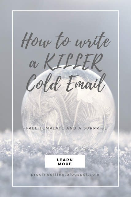how to write a killer cold email
