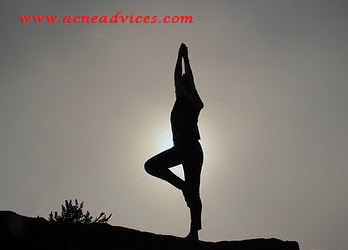 yoga for acne free and clear skin