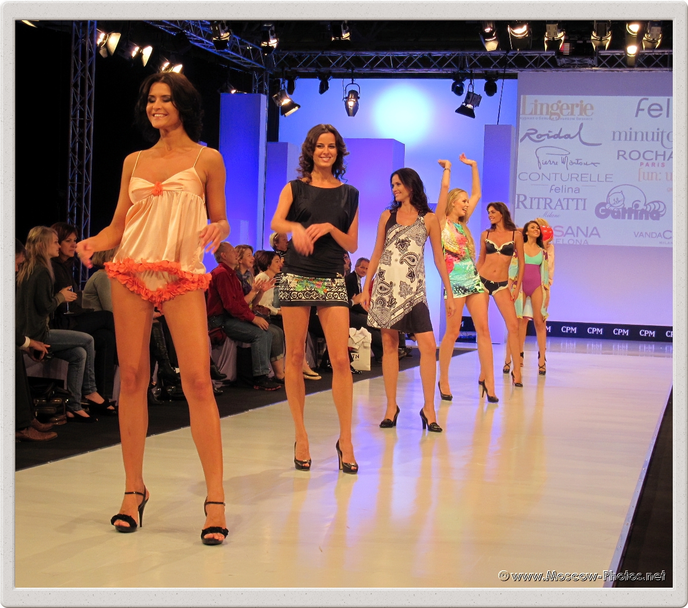 Grand Defile Lingerie Fashion Show at Collection Premiere Moscow