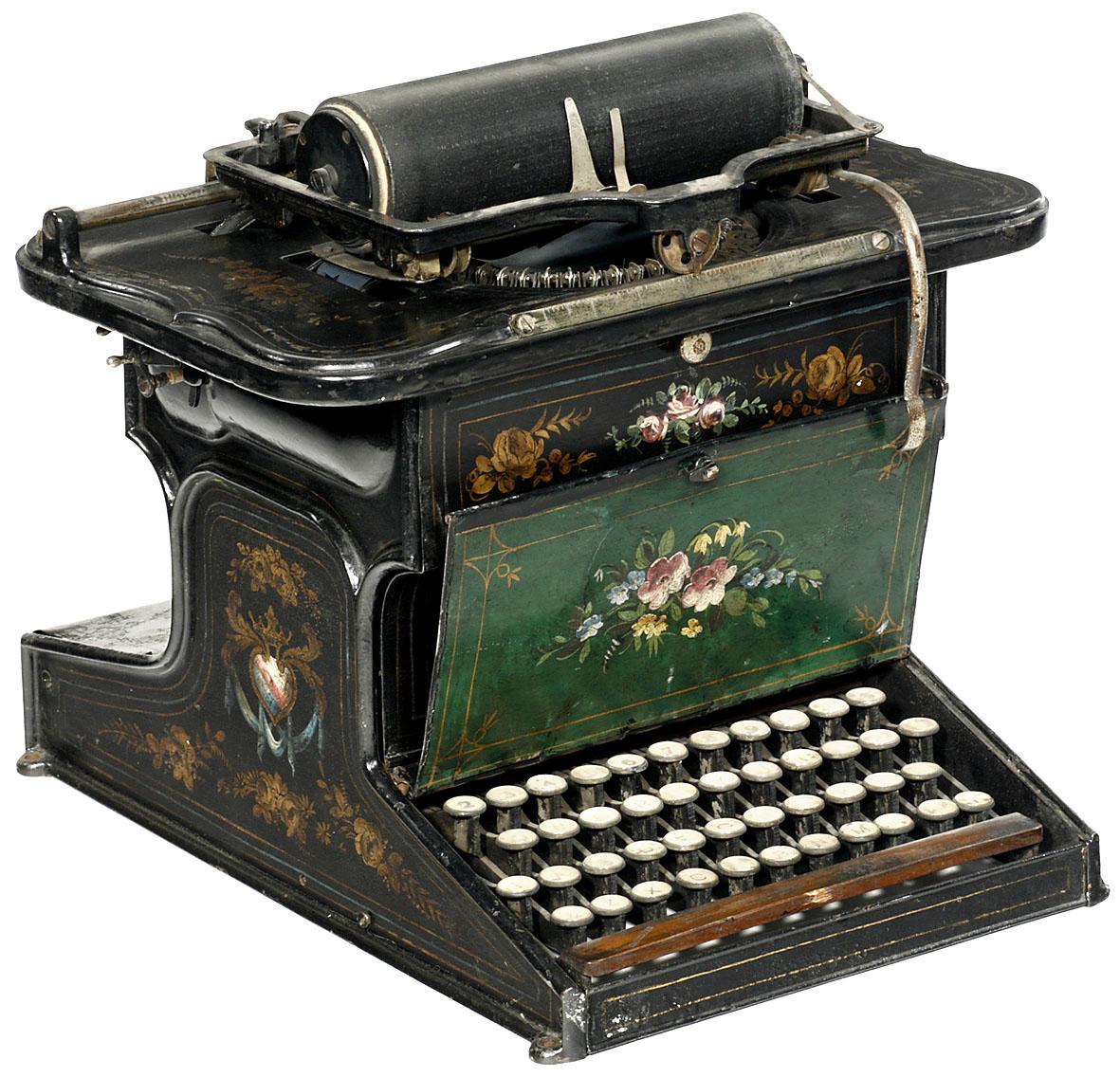 Sholes & Glidden Type Writer 1874