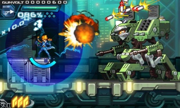 Azure Striker Gunvolt screenshot 3