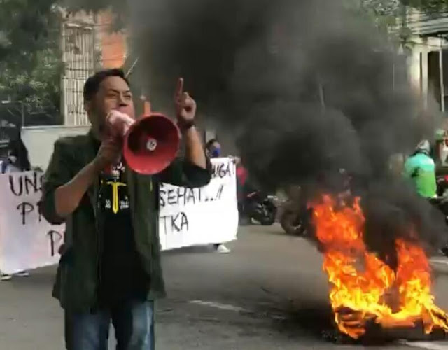 Mahasiswa UNSA Makassar minta Jokowi-Ma'ruf mempertimbangkan Penerapan PPKM Dinilai Merugikan Masyakarat