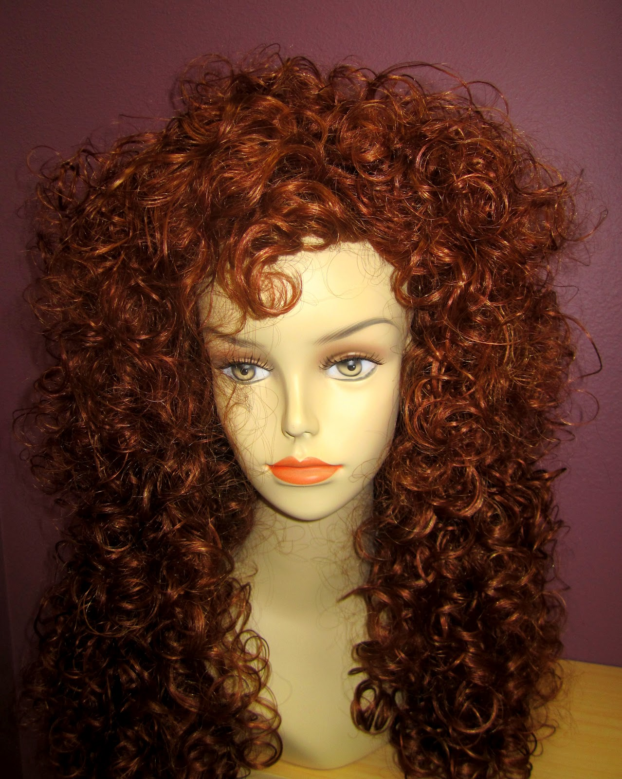 dreadlocks hair style lynne s wig boutique costume idea merida from brave 3364