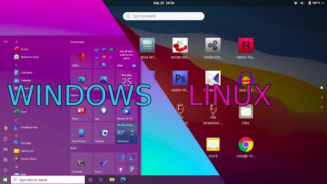 Ganti Windows Pakai Linux